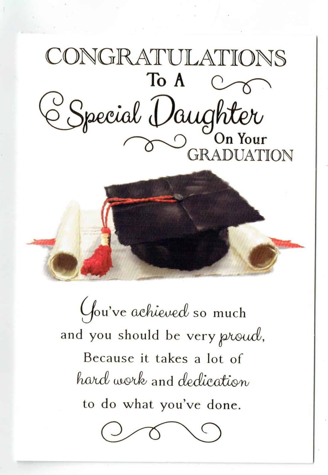 To A Special SON on Your GRADUATION Card