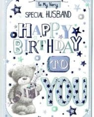 Husband-Birthday-Card-With-Teddy-Bear-Design-TO-MY-VERY-SPECIAL-HUSBAND-283144568782