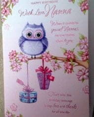 Nanna-Birthday-Card-With-Owls-And-Sentiment-Verse-282697890682