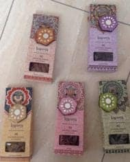 Incense-Cones-Karma-Scents-With-Glitter-Sparkle-Holder-Free-Postage-282607568823