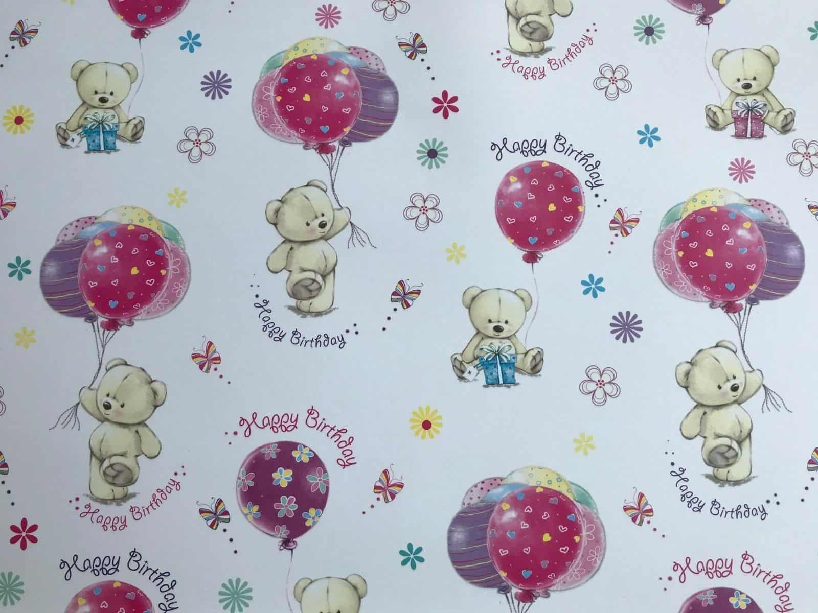 Variation Of Female Gift Wrapping Paper Choice