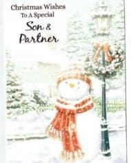 Variation-of-Son-amp-Partner-Christmas-Cards-Choice-Of-2-Festive-Designs-283304839294-d2bd
