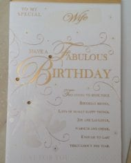 Wife-Birthday-Card-With-Gold-Sentiment-Verse-282654529025