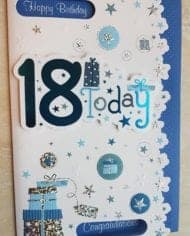 18th-Birthday-Card-Male-Embossed-Design-With-Stars-And-Gifts-282836556136