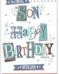 Son-Birthday-Card-TO-A-SPECIAL-SON-WITH-LOVE-283144500856