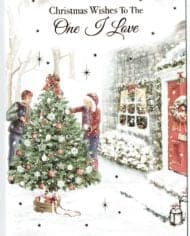 To-The-One-I-Love-Christmas-Card-With-Festive-Scene-283197212626