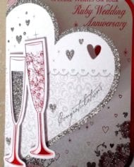 Ruby-40th-Wedding-Anniversary-Card-With-Hearts-And-Champagne-282609682447