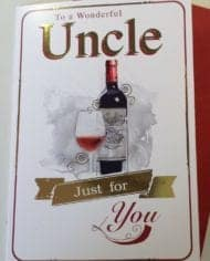 Uncle-Birthday-Card-With-Wine-Design-Wonderful-Uncle-282390747137