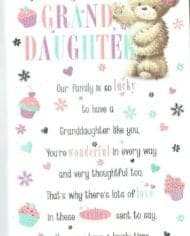 Variation-of-Granddaughter-Birthday-Card-Sentiment-Verse-amp-Pop-Out-Centre-Choice-2-Design-282953522507-e462