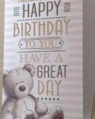 Husband-Birthday-Card-With-Embossed-Cute-Teddy-Design-282485035138