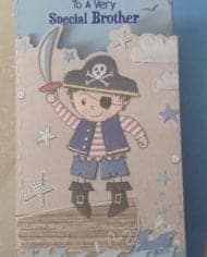Brother-Birthday-Card-Embossed-With-Pirate-Design-282644389639