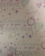 Variation-of-Engagement-Wedding-Anniversary-Gift-Wrap-Paper-185-For-2-Sheets-amp-Tags-282409175869-06f4