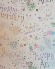 Variation-of-Engagement-Wedding-Anniversary-Gift-Wrap-Paper-185-For-2-Sheets-amp-Tags-282409175869-dff2