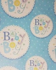 Variation-of-New-Baby-Girl-Boy-Girl-Christening-Gift-Wrapping-Paper-185-2-Sheets-amp-Tags-282435273569-75b1